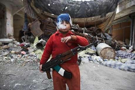 Tentara anak oposisi Suriah