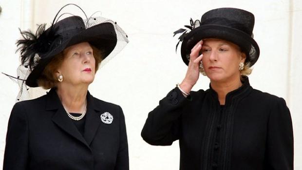 CAROL & MARGARET THATCHER