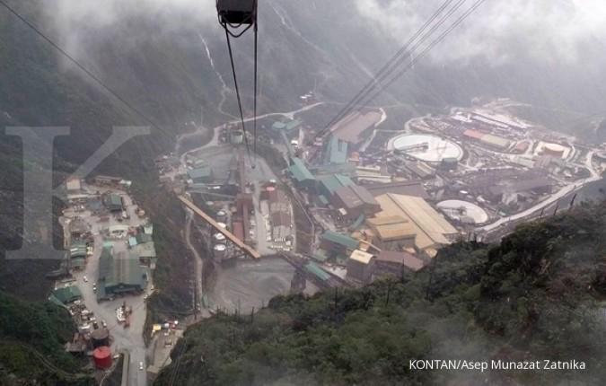 proses pengolahan biji tambang PT Freeport Indonesia di Tembagapura, Mimika, Timika, Papua (20/4/2015). KONTAN/Asep Munazat Zatnika
